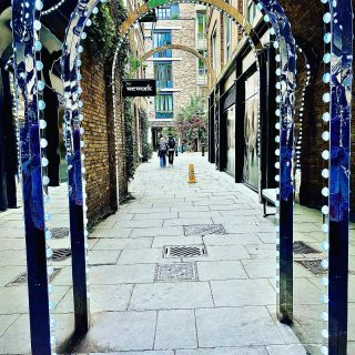 It is strange when you go to the touristy parts of London that I normally avoid, yet they're virtually empty.  This is #coventgarden   #themadwomanintheattic #girlswhotravelsolo #thisislondon #londonlife #mylondon #lovelondon #writersofinstagram